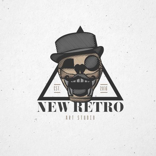 New Retro Art Studio
