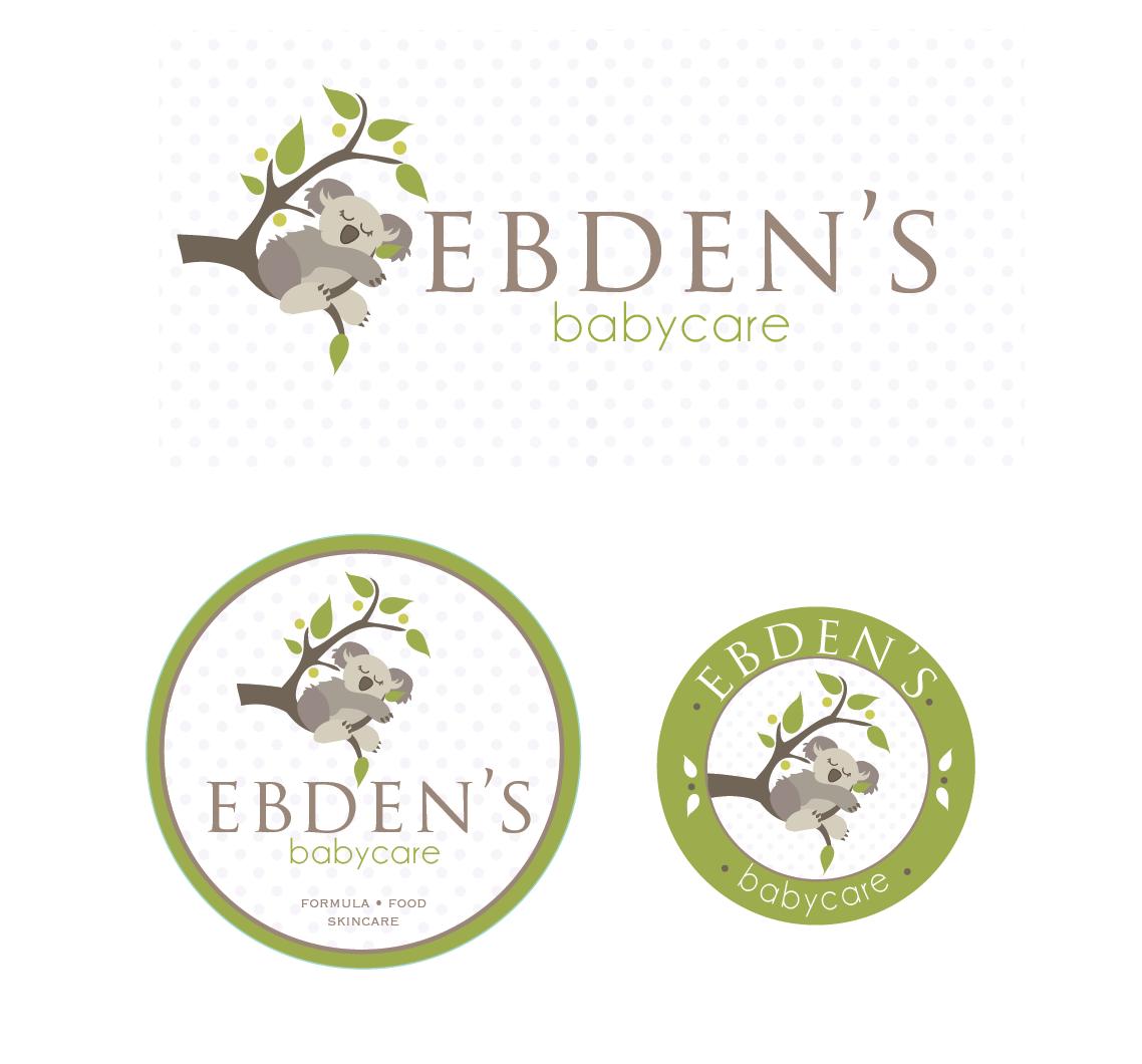 Ebden's Babycare needs a new logo
