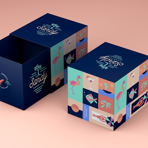 Candle Box design for Sandy