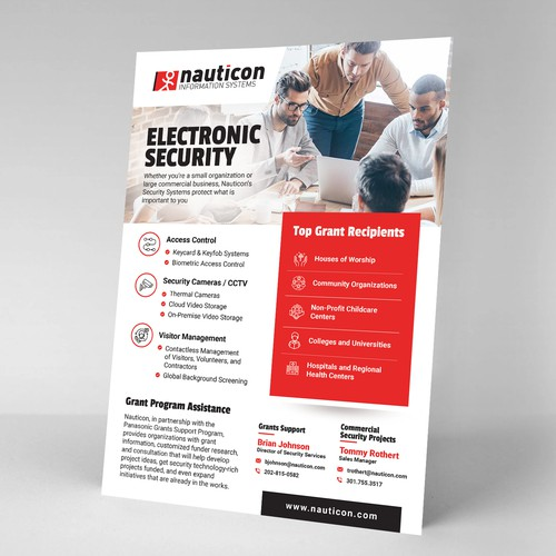 Electronic Security Flyer