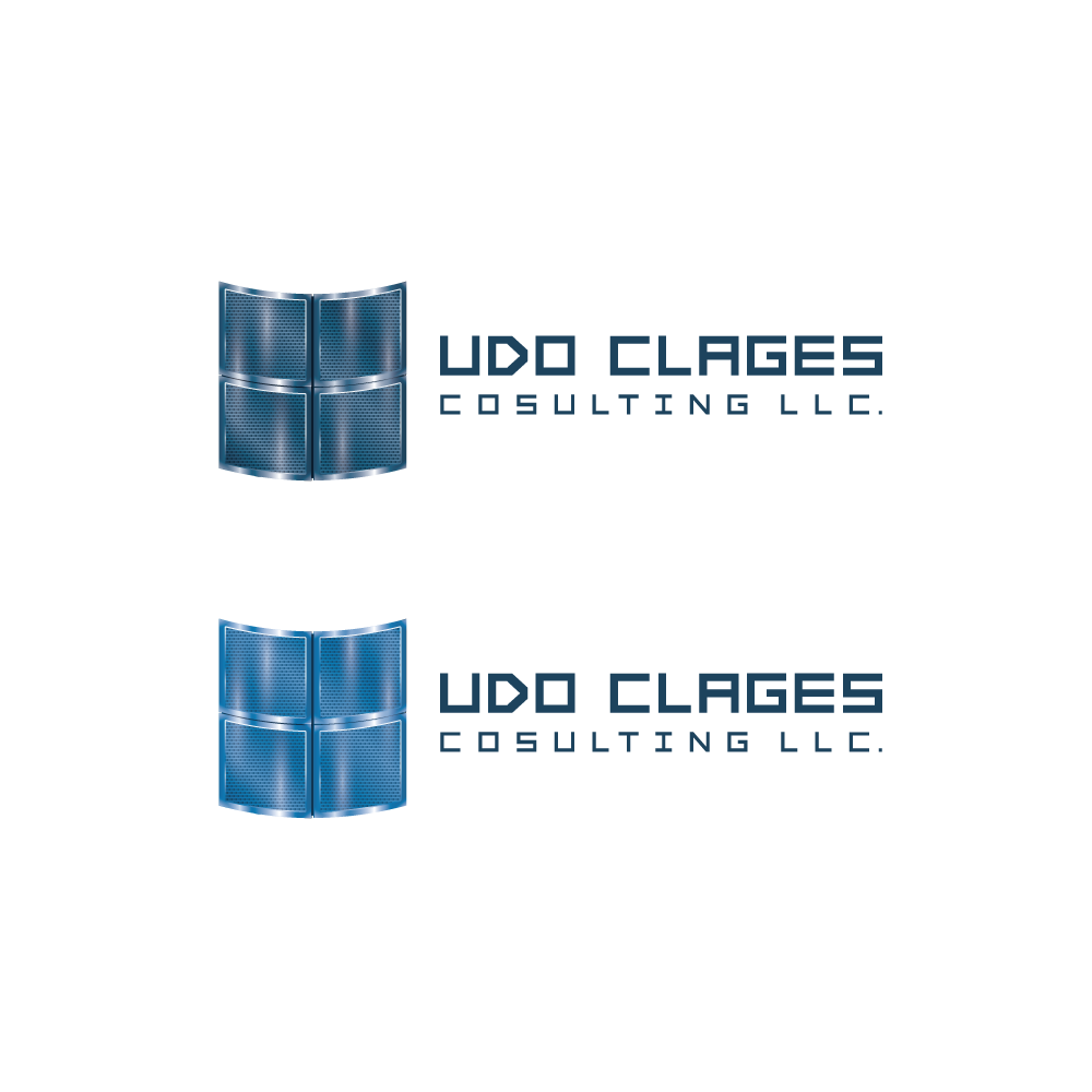 Design a logo which puts some sense into the company name Udo Clages Consulting LLC.