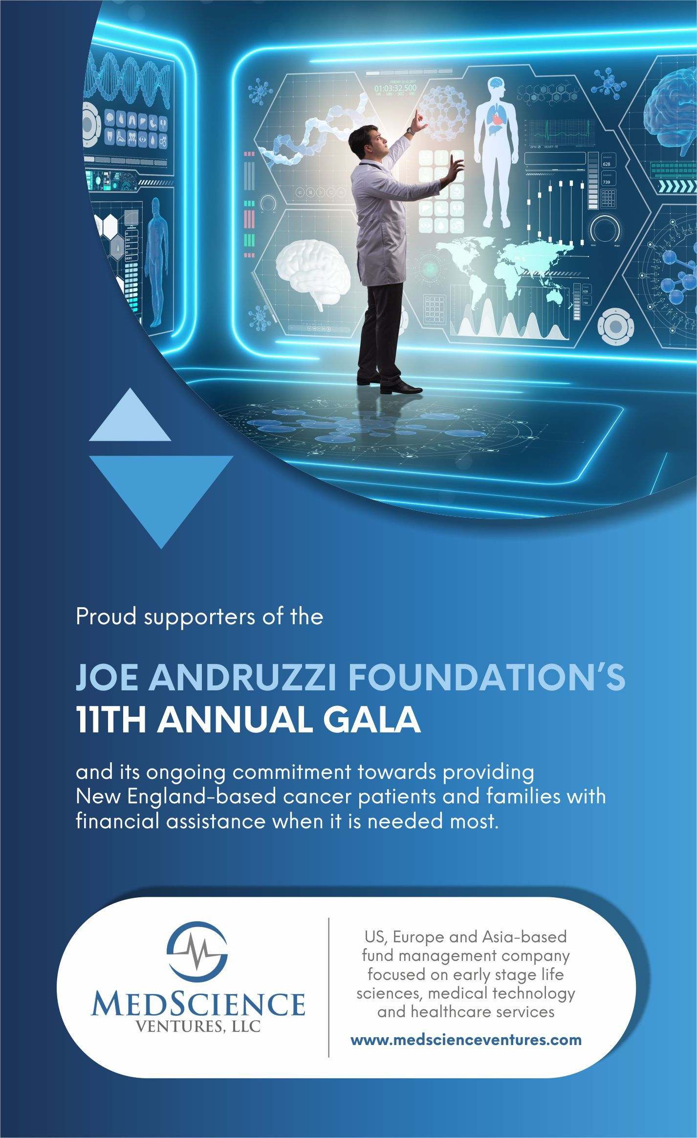 Sponsor's Gala Program Book Ad