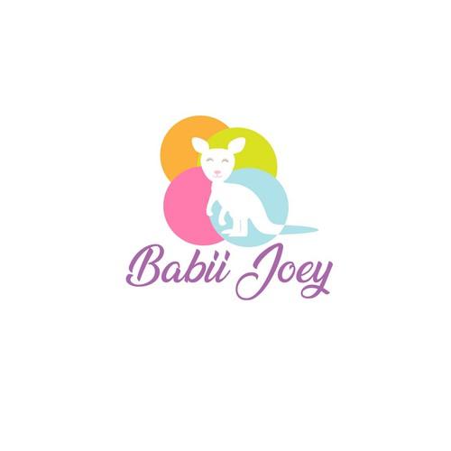 bold logo concept for baby
