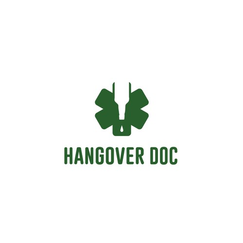 In contest Logo for the Hangover Doc. Logo for Berlin startup doctors.