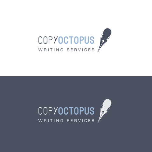 Logo concept for writing services boutique