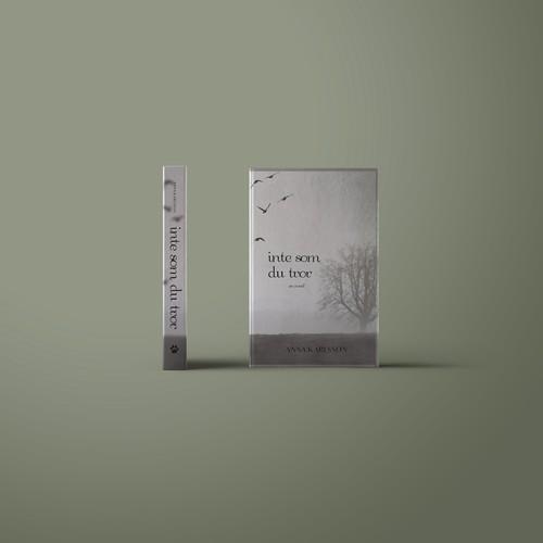 Inte Som Du Tror Novel Book Cover Design