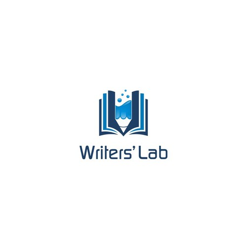 Hip, fresh logo for Writers' Lab workshops