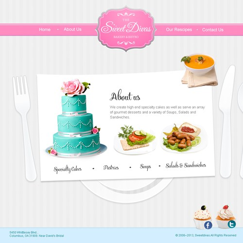 Web Design For Sweet Divas