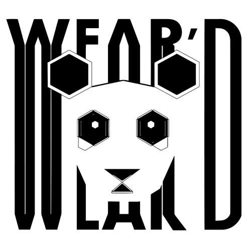 Panda logo for wear'd