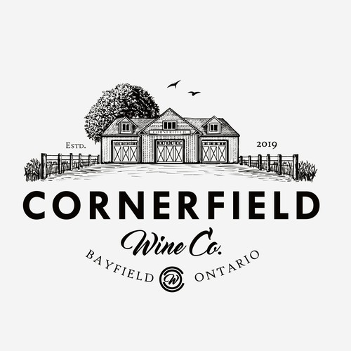 Logo for Cornerfield Vinery