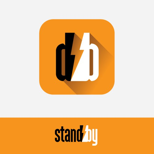 Create a logo for stand·by, a company that sells/installs whole home integrated back up generators