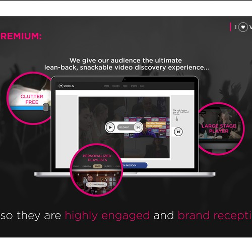 Advertising Partner Pitch Deck for Iluvvideo