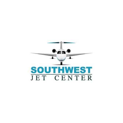 Logo design for Southwest Jet Center