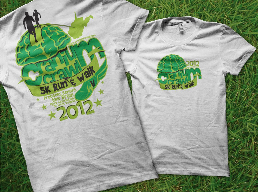 Help CRANIUM CRAWL 5K RUN & WALK with a new t-shirt design
