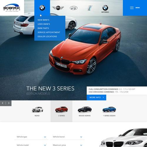 Modern, functional design for a Car Dealership