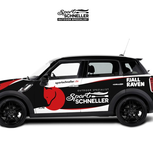 SPORT SCHNELLER CAR WRAP DESIGN