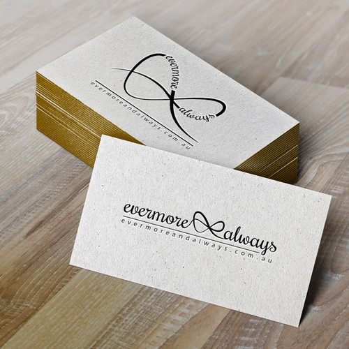 Logo and identity for Evermore & Always