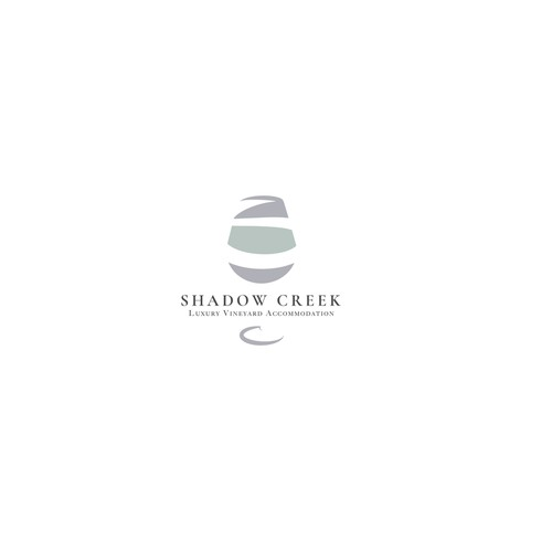 Logo for luxury vineyard in Australia