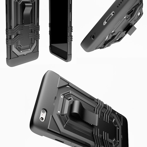Cell Phone Armor Type Case Design