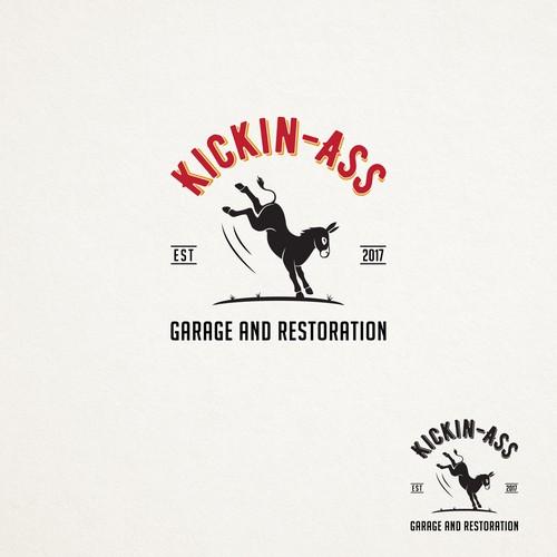 KICKIN-ASS Logo