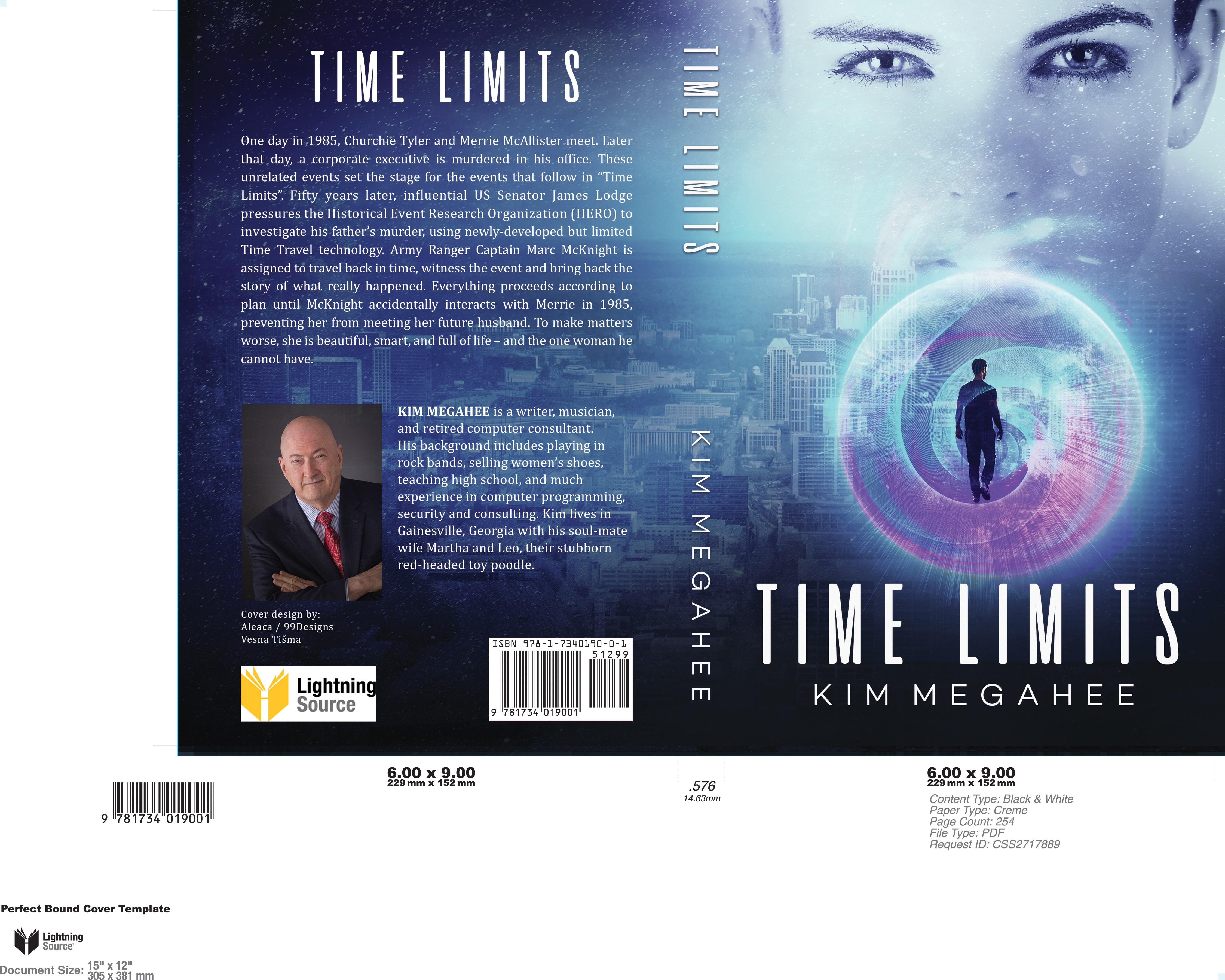 Time Travel Murder Mystery novel needs a beautiful Face.