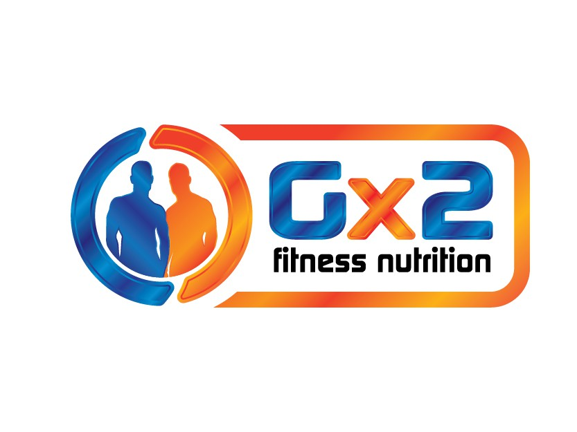 Create the next logo for Gx2  fitness nutrition