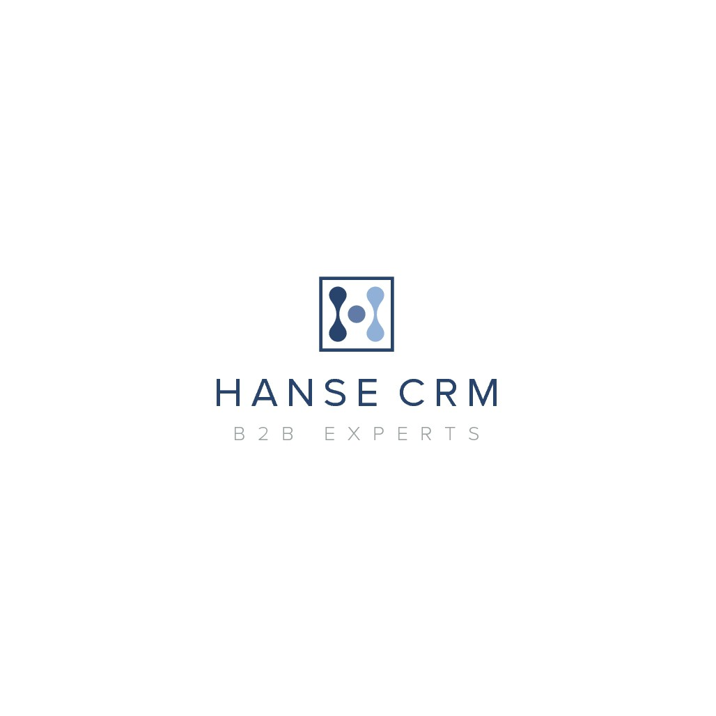 Digital Transformation, Modern Software and Classic Management Consulting - Brand Identity for Hanse CRM