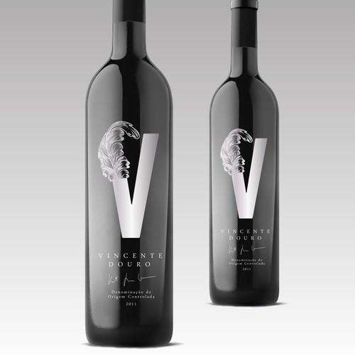 Vincente Douro Label Design