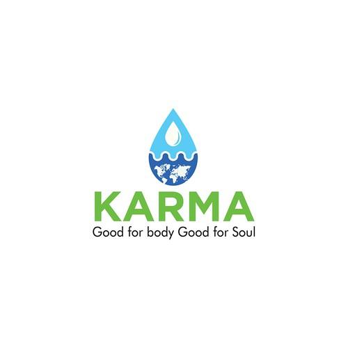 Karma Logo Water