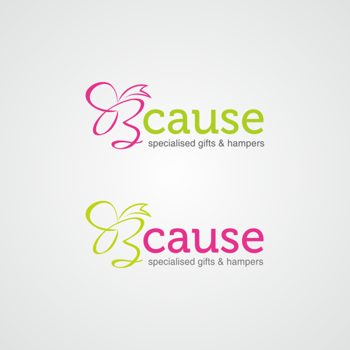 Playful logo for Bcause