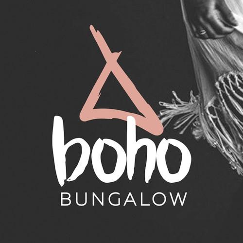BOHO  logo design