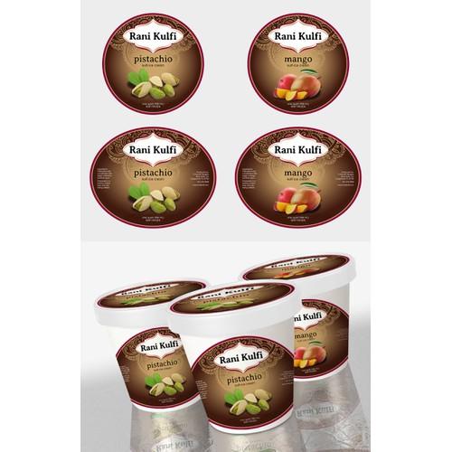 Rani Kulfi Ice Cream needs a new product label