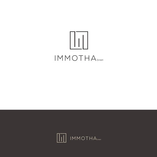 Minimalistic logo for real estate