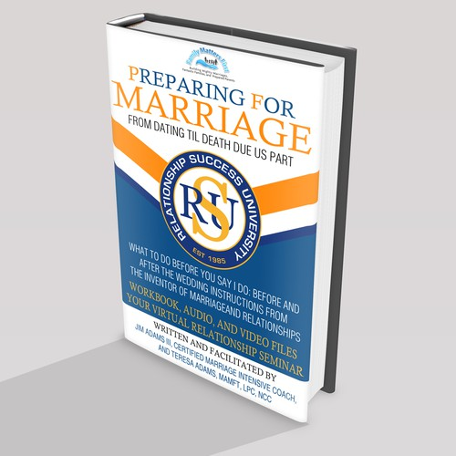 """Book Cover Design for """"Preparing for Marriage""""- From Dating til Death Due Us Part"""