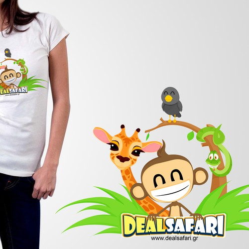 Create the next t-shirt design for Dealsafari
