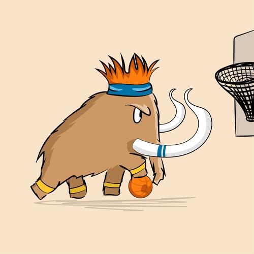 Cute mascot - Mammot