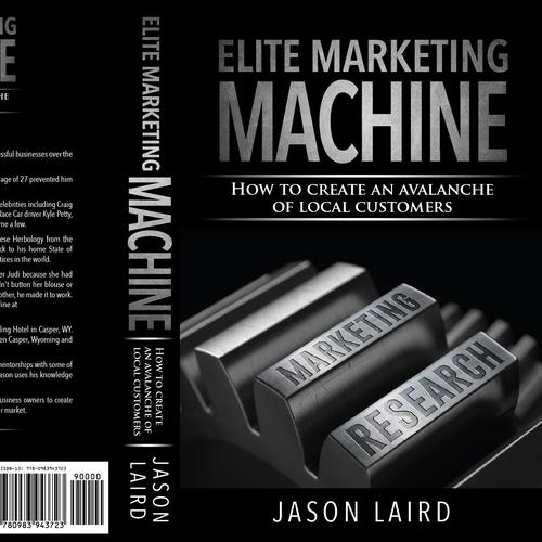 Marketing Book Cover design