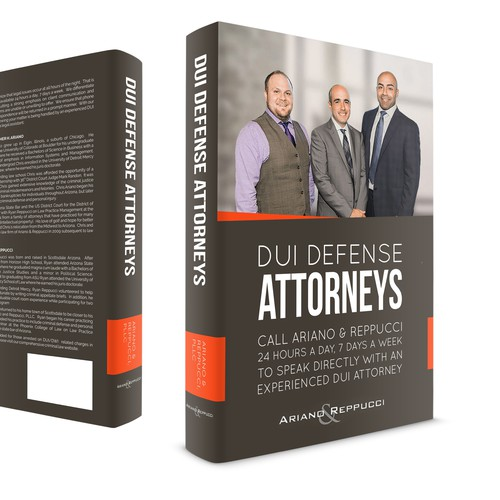 Arizona themed book cover for our series of legal guides