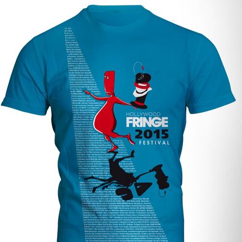 T-shirt for Hollywood Fringe Festival 2015