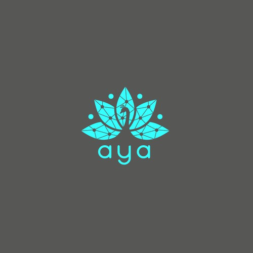 Logo for Aya Ai and mobile application
