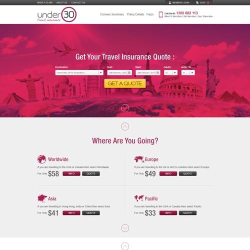 Travel Insurance Web Refresh