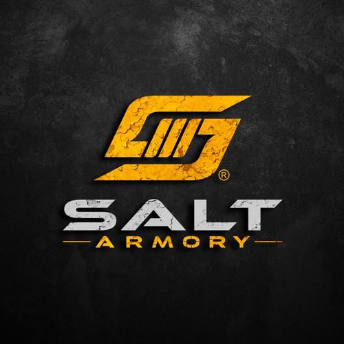 Logo design for Salt Armory