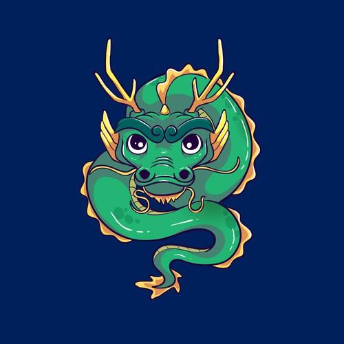Chinnese Zodiac Dragon Character