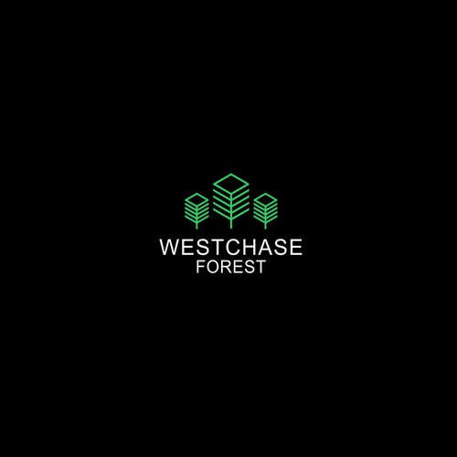 Design a modern logo for Westchase Forest Apartments