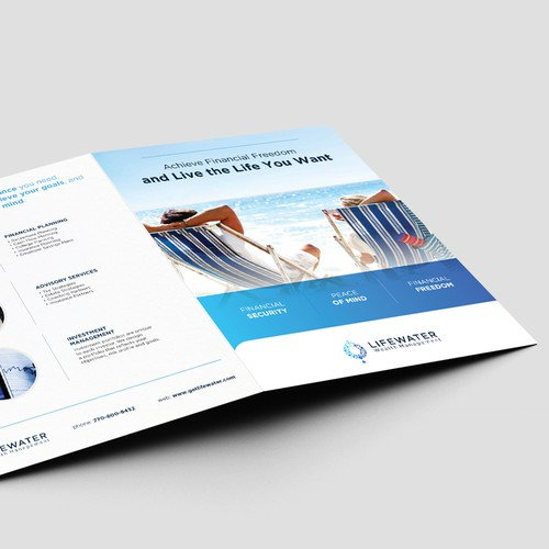 Inspiring and Modern Brochure for High Net Worth Clients