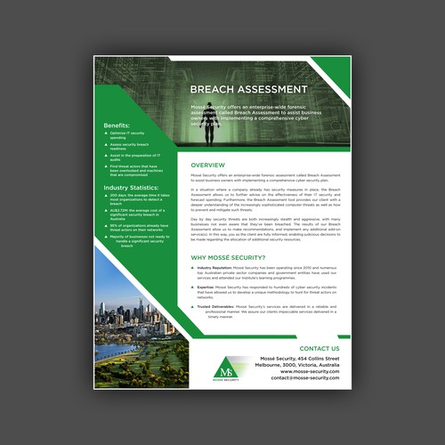 Breach assessment brochures