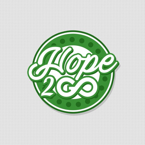 """HOPE 2 GO"" LOGO DESIGN"