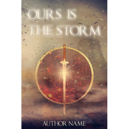 Book cover for Ours is the Storm, an epic fantasy novel