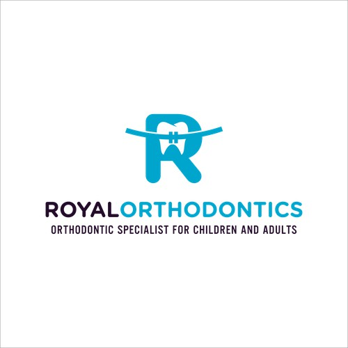 New logo for dental clinic without going far away from their exiting logo !