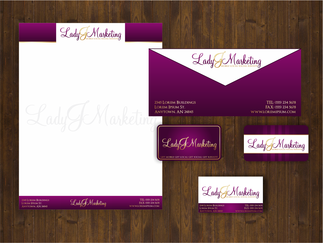 New logo wanted for Lady J Marketing